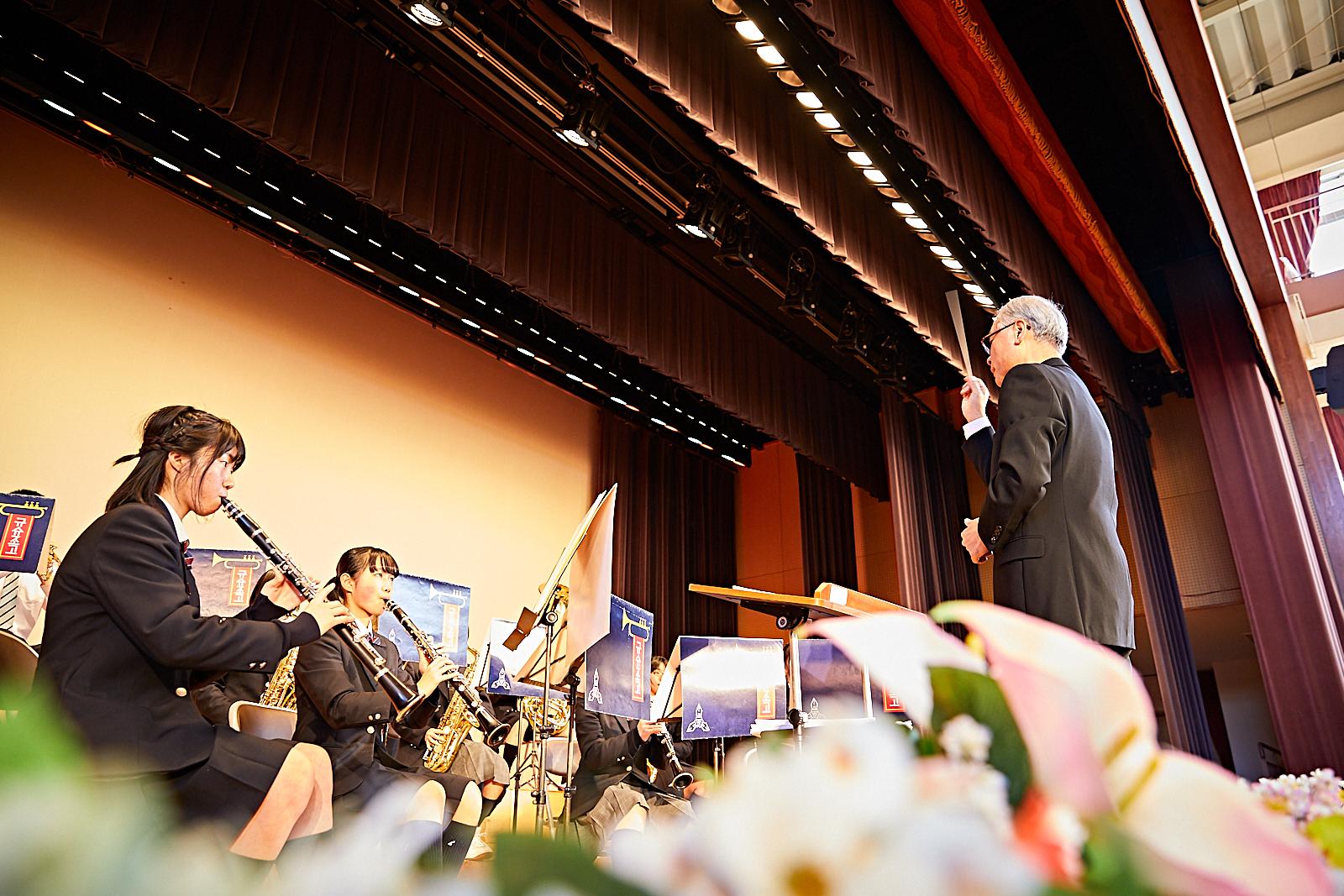 吹奏楽部発表会のイメージ