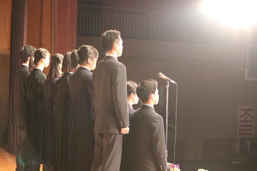 高級部卒業式のイメージ