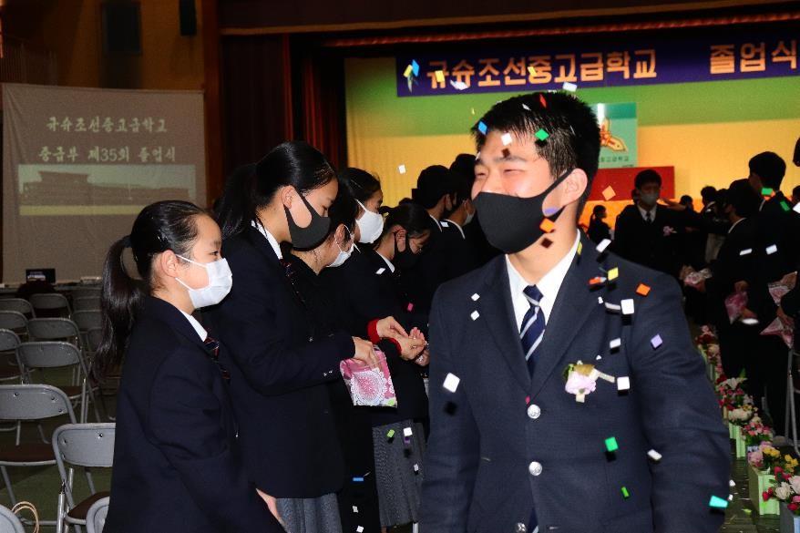 第35回 中級部卒業式のイメージ